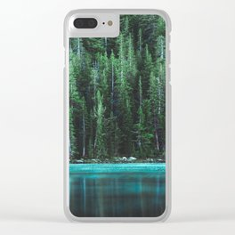 Forest 3 Clear iPhone Case