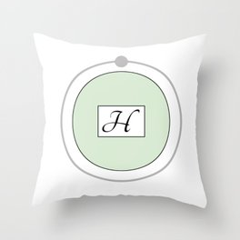 Hydrogen - Bohr Model Throw Pillow