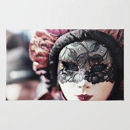 Italy Venice Mask 4 woman Rug