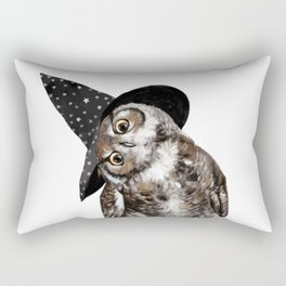Happy Halloween Owl Rectangular Pillow