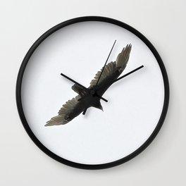 Lone Eagle Wall Clock