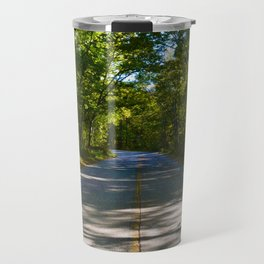 The road to Point Pelee National Park, Ontario Canada Travel Mug