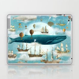Ocean Meets Sky - option Laptop & iPad Skin