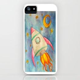 Space Flight iPhone Case