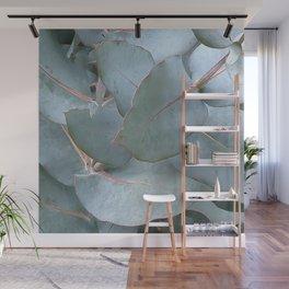 Euc leaves Wall Mural