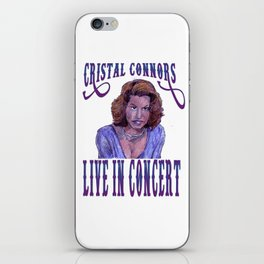 Cristal Connors iPhone Skin