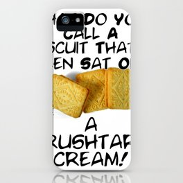 Crushtard Cream Pun iPhone Case
