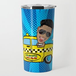 Cabs Are Here Travel Mug