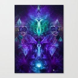 Psychonaut - Fractal Manipulation Canvas Print