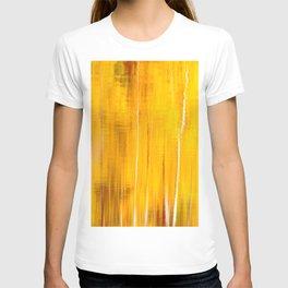 Autumn colors reflecting on the lake surface #decor #buyart #society6 T-shirt