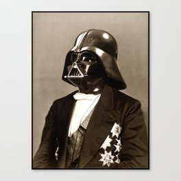 Portrait of Sir Vader Canvas Print