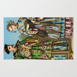 Chinese Costume 1856 Rug