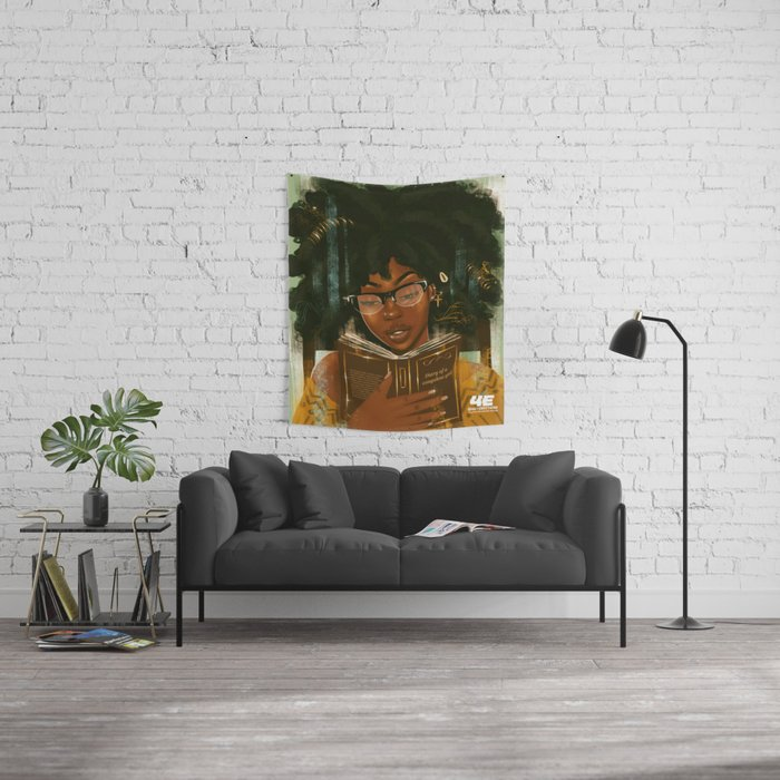 Lecture Et Relaxation Wall Tapestry By Foreverestherr