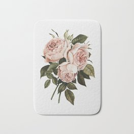 Three English Roses Bath Mat