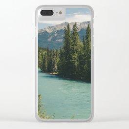Tête Jaune Cache Clear iPhone Case