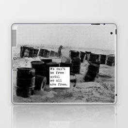 One day we'll all be free. Laptop & iPad Skin