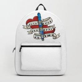 Laugh Hard, Run Fast, Be Kind Backpack