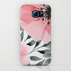 Big Watercolor Flowers Galaxy S8 Slim Case