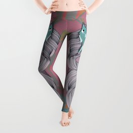 The eternal quest for happiness Leggings