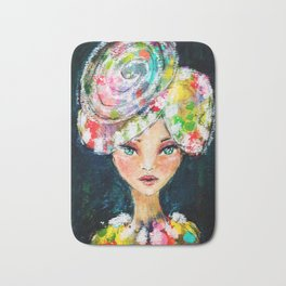 High Society Girl Bath Mat