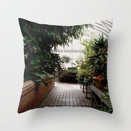 Biltmore Greenhouse Throw Pillow