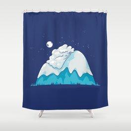 Cozy Mountain Shower Curtain