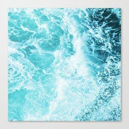 Perfect Sea Waves Canvas Print
