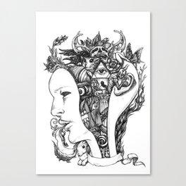 Open my mind Canvas Print