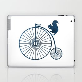 Squirrel on a high wheel Laptop & iPad Skin