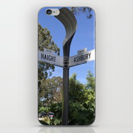 Corner of Haight and Ashbury in San Francisco iPhone Skin