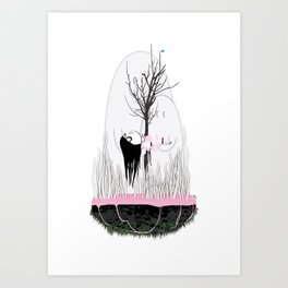 HILLS HAVE EYES Art Print