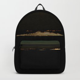 The river after sunset Backpack