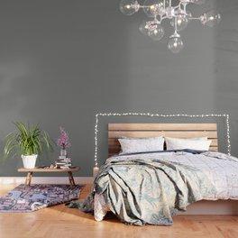 Solid Dark Battleship Gray Color Wallpaper