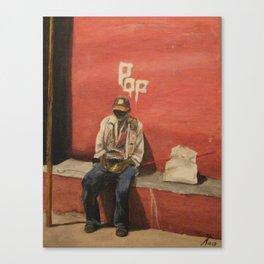 POP Cuban Man 2 Canvas Print