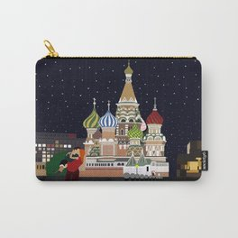 Love at the Moscow Kremlin Carry-All Pouch