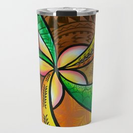 Abstract Pua Travel Mug