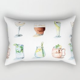 Cocktail season! Rectangular Pillow