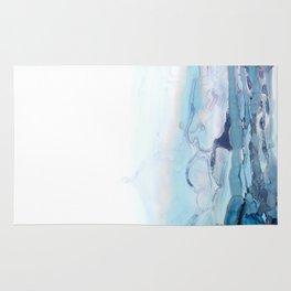 Indigo Abstract Painting | No.6 Rug