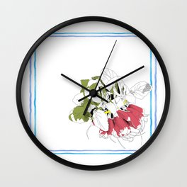 Rad Radish Wall Clock