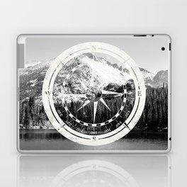 Mountain and Compass Laptop & iPad Skin