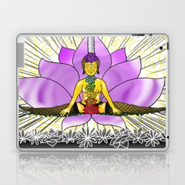 Chakras With Lotus Laptop & iPad Skin