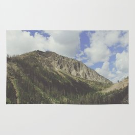 Yellowstone Mountains Rug