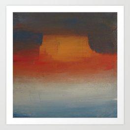 Mesa Mist Art Print