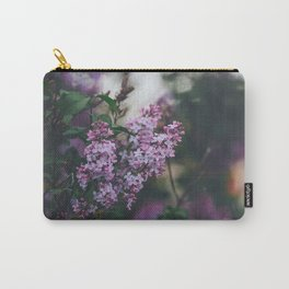 Lilacs Carry-All Pouch