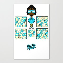 Feather Bomber Canvas Print