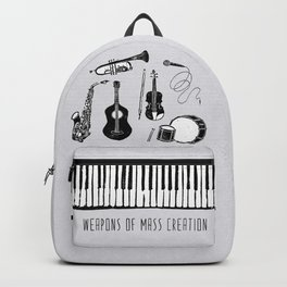 Weapons Of Mass Creation - Music Backpack