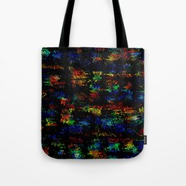 Voronoi Doodle (Three) Tote Bag