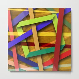 Abstract #356 Metal Print