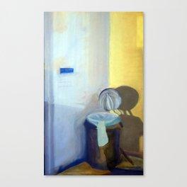 Portrait of a Trashcan Canvas Print