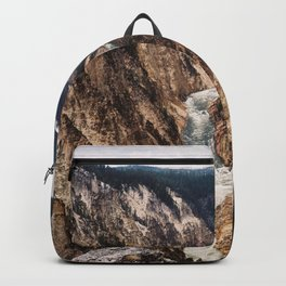 Waterfall in Yellowstone National Park Backpack